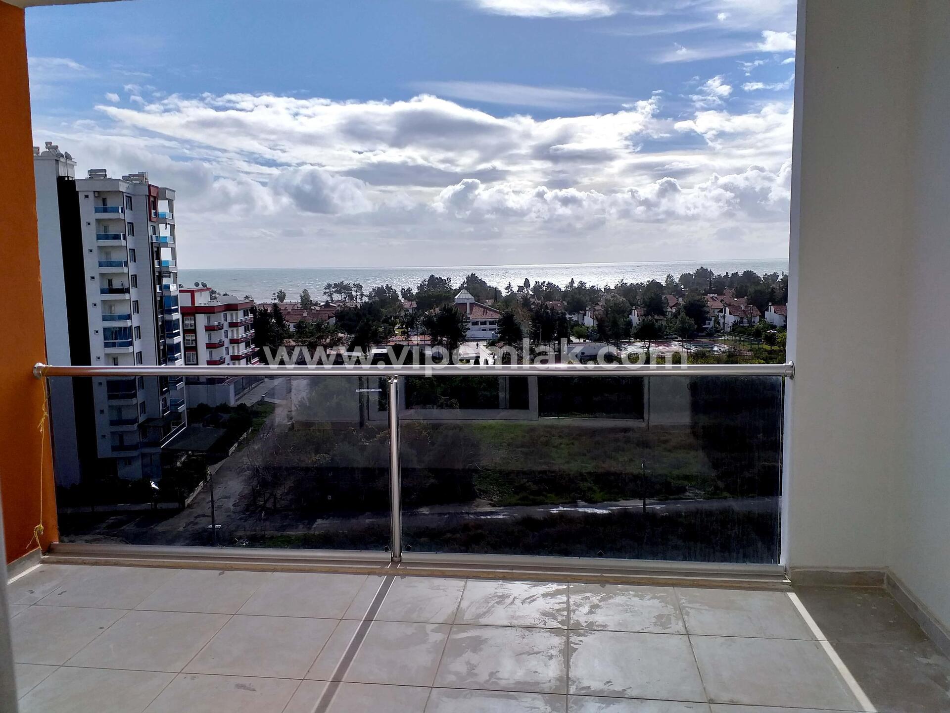 kargıpınarı heaven courts satılık yüksek kat deniz manzaralı 2+1 daire