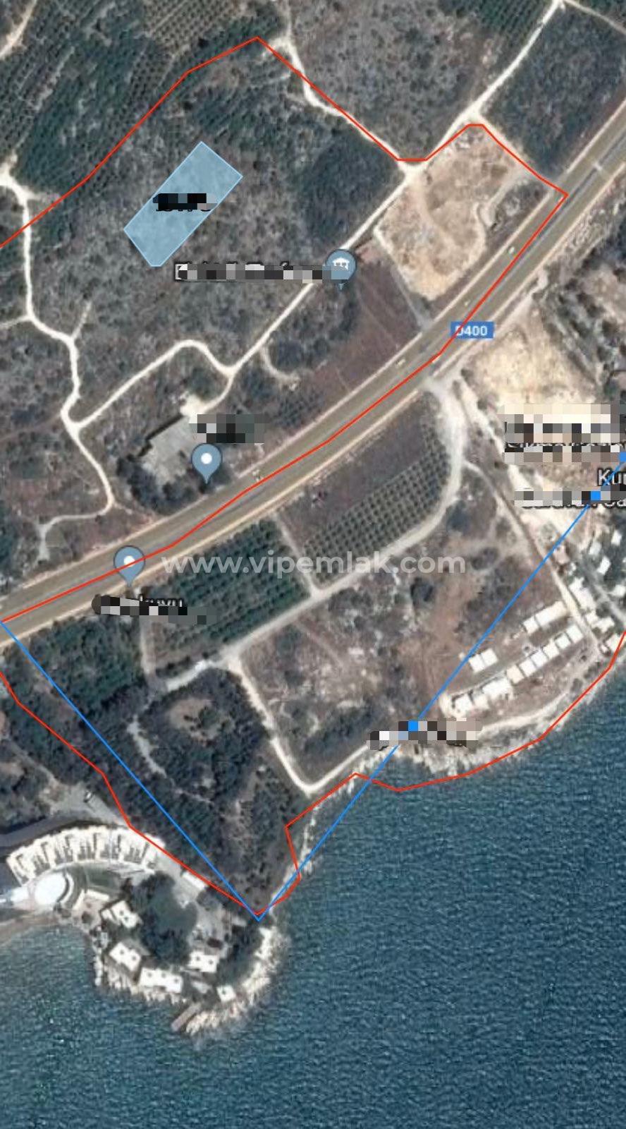 Erdemli Tırtar'da 2574m2 Satılık Arsa