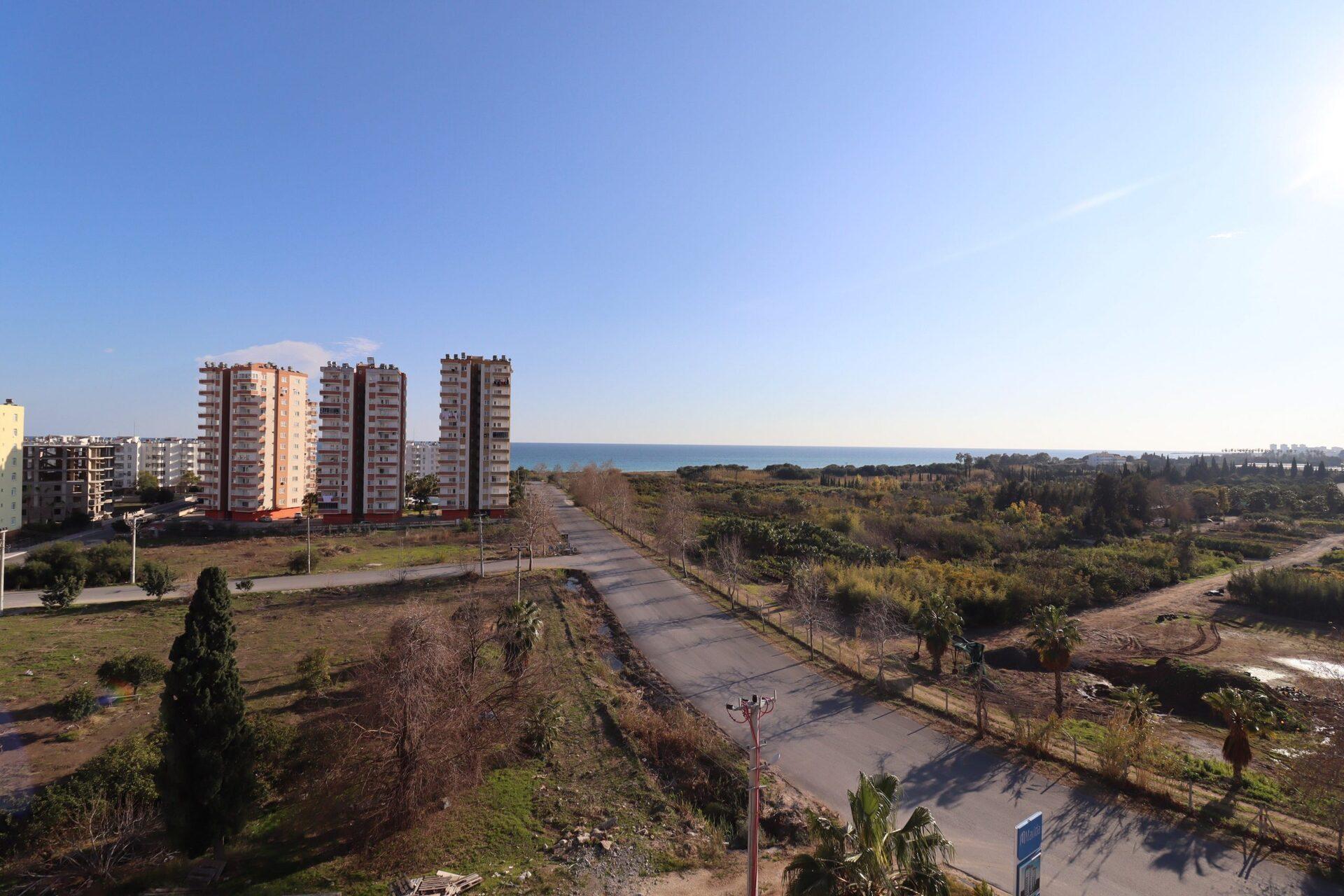 Erdemli Arpaçbahşiş Mavida Sitesi Deniz Manzaralı Satılık Daire