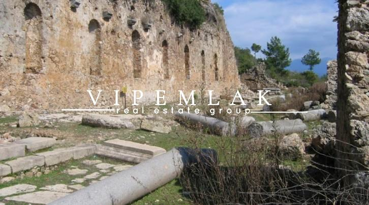 ancient city of syedra in alanya