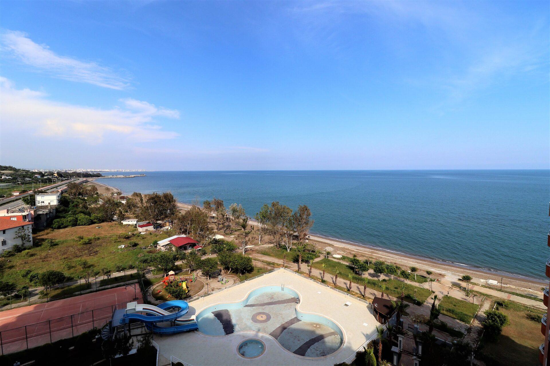 Mersin Limonlu Milenyum Beach Sitesi Denize Sıfır 2+1 Satılık Daire