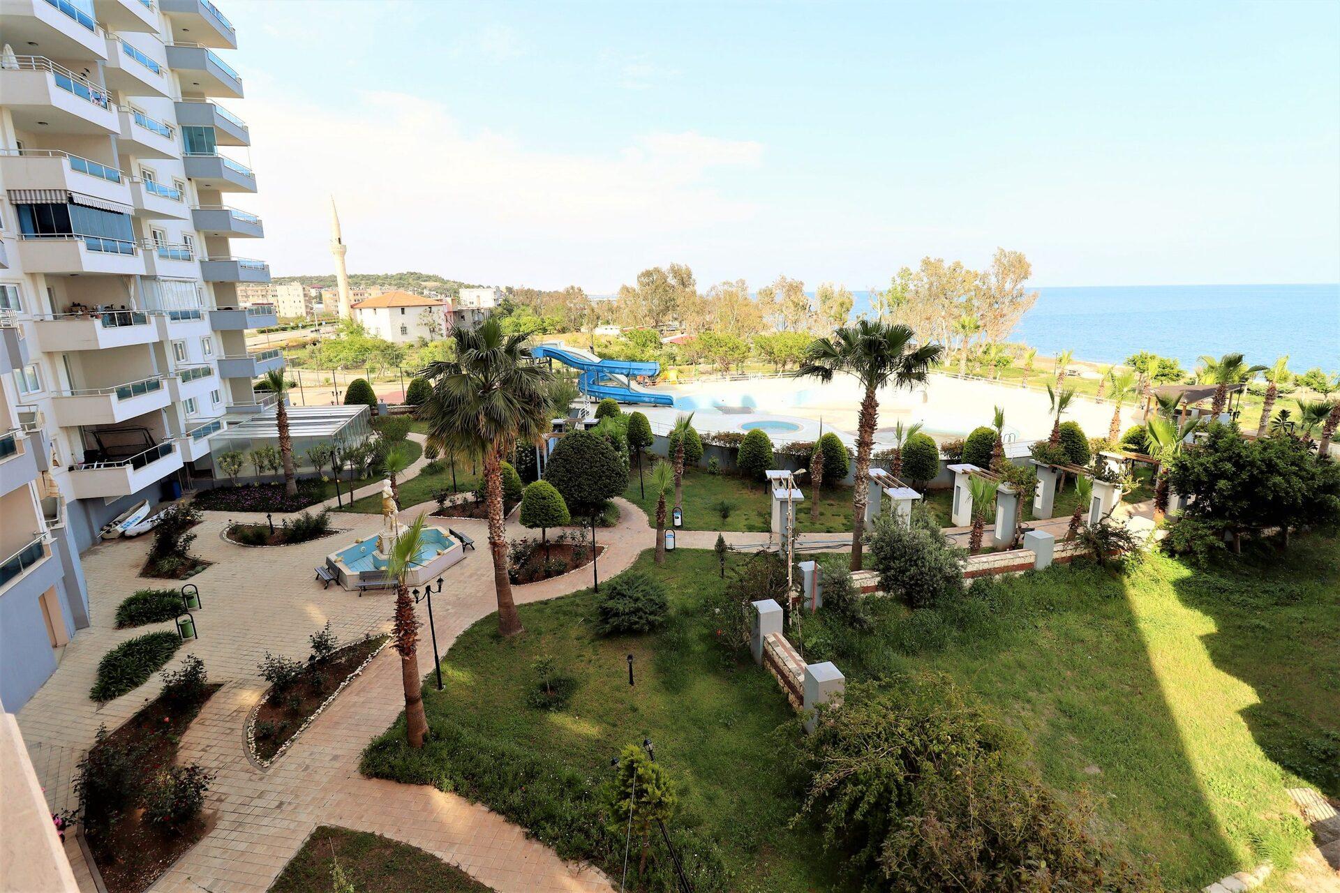 Mersin Limonlu Milenyum Beach Tatil Sitesi 3+1 Satılık Daire
