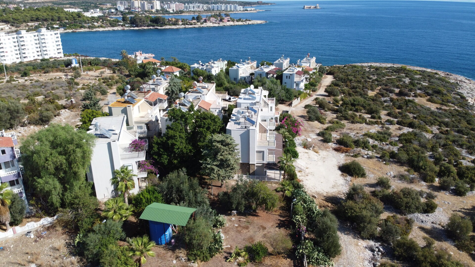 Mersin Silifke Narlıkuyu Denize Sıfır Çok Uygun Villa Satılık 4+1