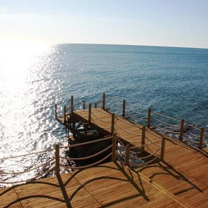 Ayaş Elissa Sitesi Eşyalı Satılık 2+1 Denize Sıfır Daire