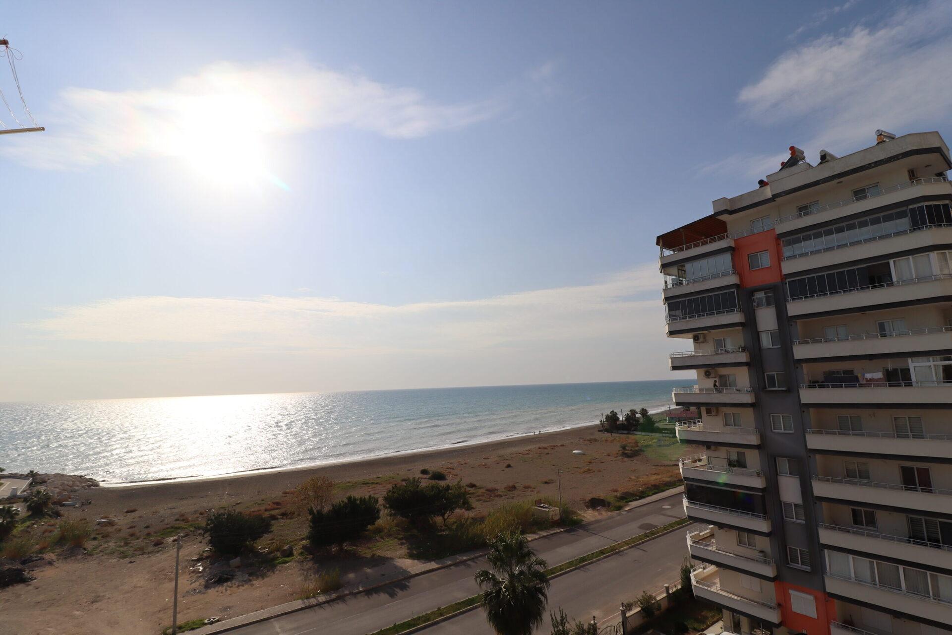 Erdemli Akdeniz Mahallesi Deniz Manzaralı Satılık 2+1 Daire