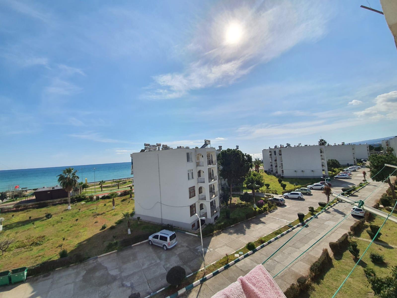 Mersin Erdemli Erciyes Compound 2 + 1 appartement met zeezicht te koop