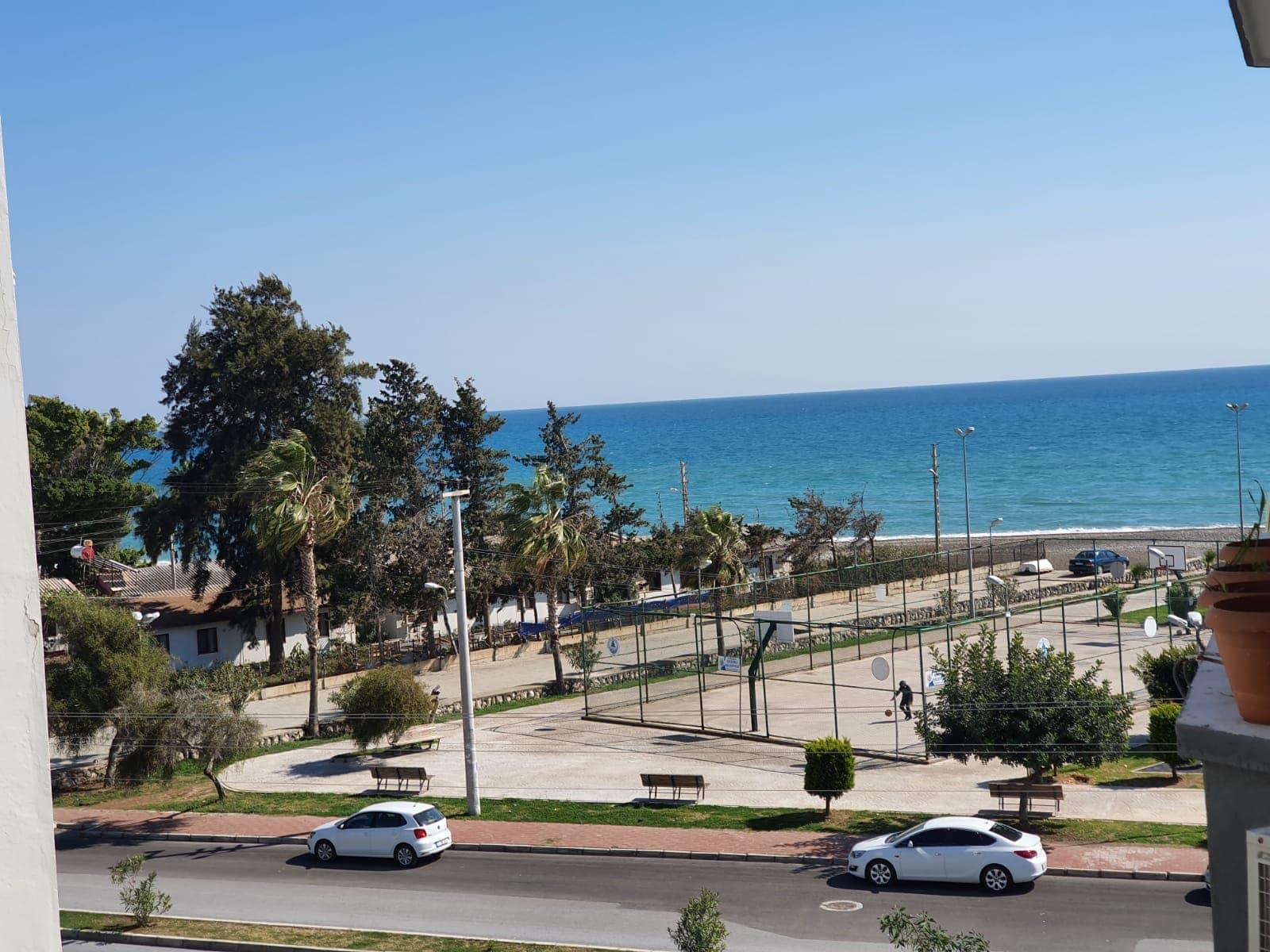 Mersin Erdemli Güzeldağ Sitesi Deniz Manzaralı Satılık 2+1 Eşyalı Daire