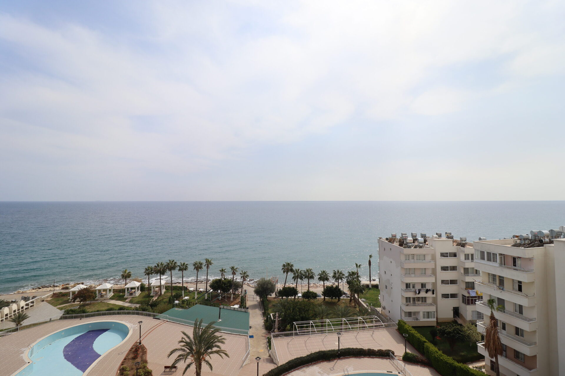 Mersin Erdemli Ayas Sunrise Queenaba 4 Compound Furnished Flat For Rent