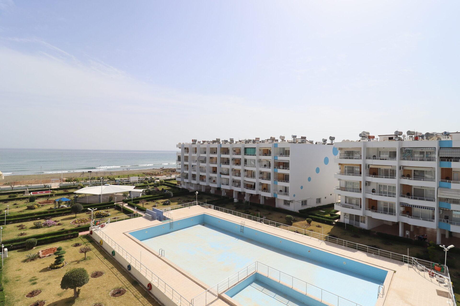 Mersin Erdemli Arpaçbahşiş Akdeniz Ferienkomplex 1 + 1 Sommerwohnung zu verkaufen