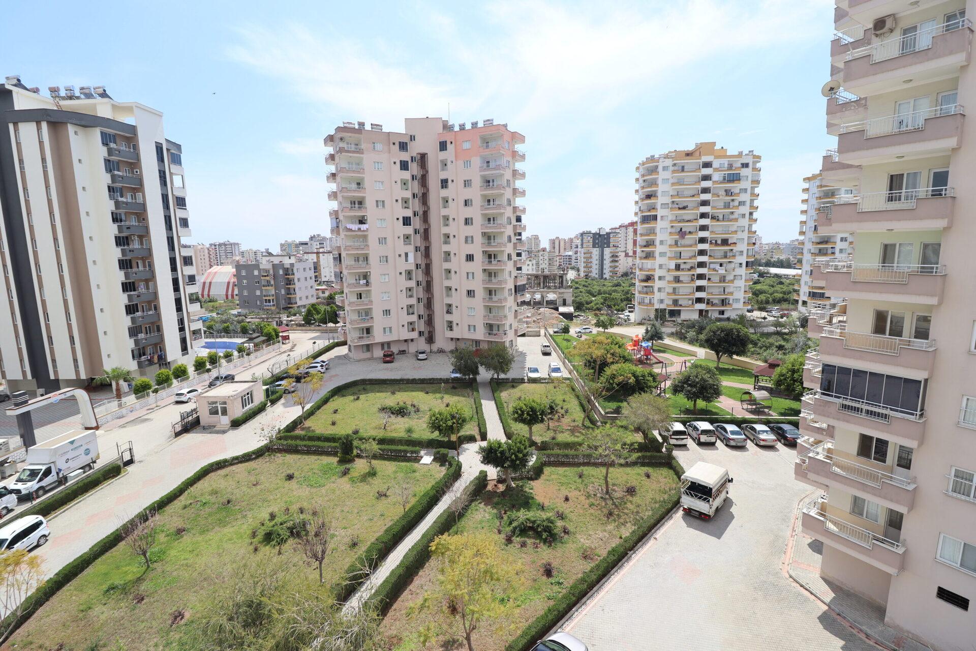 Mersin Erdemli Alata Ultra luxe 4 + 1 appartement te koop met open fronten