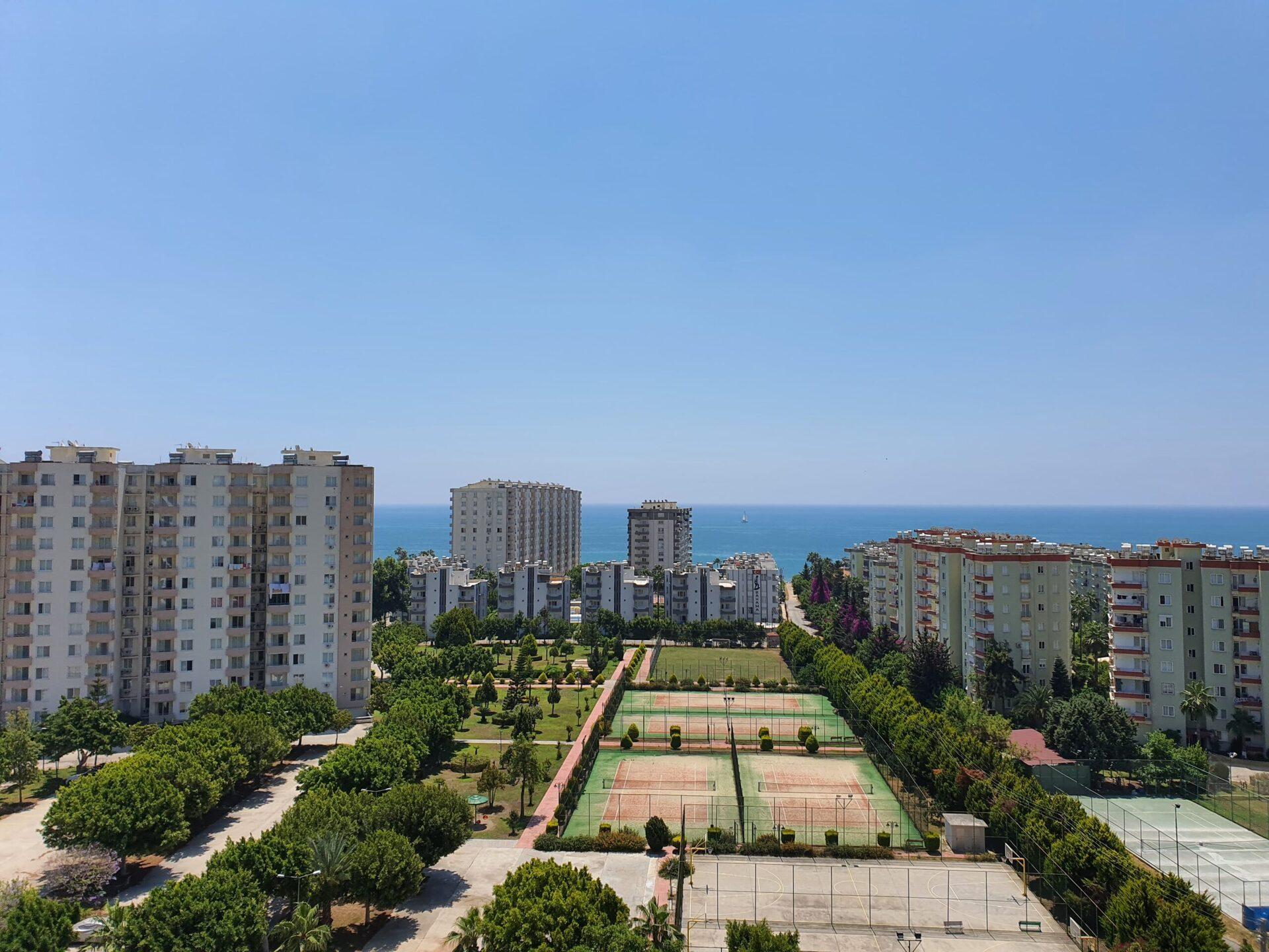 Mersin Kargıpınarı Queenaba 3 Sitesi Deniz Manzaralı Satılık Daire