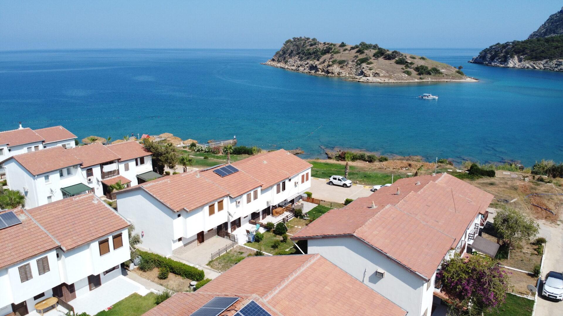 3+1 Villa in Mersin Tisan zum Verkauf am Meer