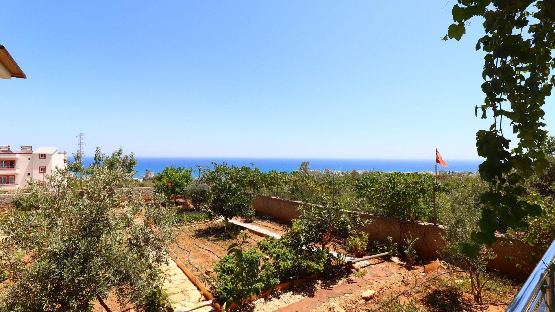 Die Kumkuyu Sea View Villa ist eine unabhängige Villa, die aus 2 Villen auf 1 Hektar besteht