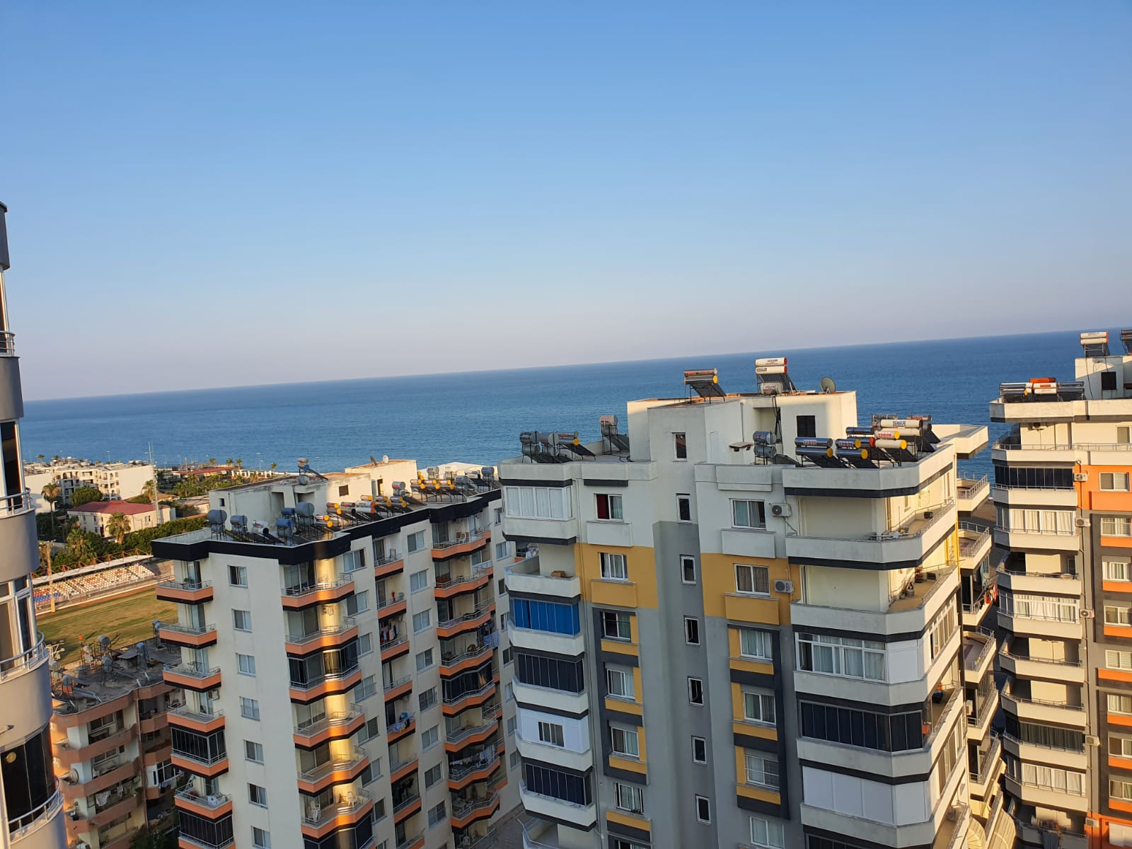 Erdemli Akdeniz Mahallesi Satılık 3+1 Deniz Manzaralı Masrafsız Daire